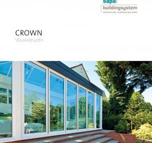 consumer brochure Crown biFold sliding folding door
