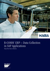 B-COMM® ERP – Data Collection in SAP Applications