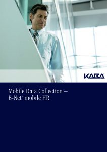 Mobile Data Collection – B-Net® mobile HR
