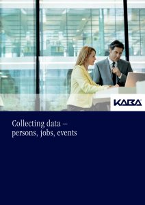 Recording Data - People, Jobs, Events