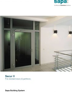 Sapa Beveiligingsdeuren en ramen 3
