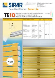 10 TE10 PROFILO
