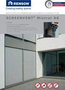 Screenvent Mistral AK-1